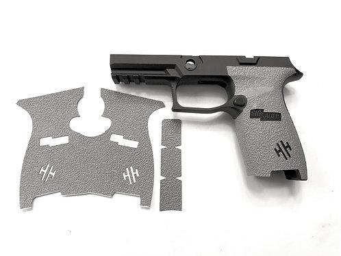 SIG SAUER P320 Full Size Gray Textured Rubber Gun Grip Enhancement Kit