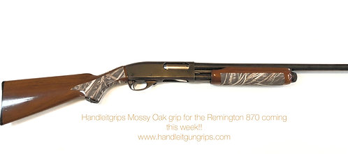 Remington 870 Mossy Oak Sandpaper Grip Enhancement