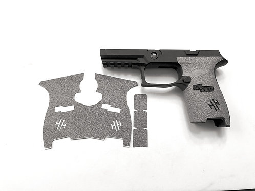 SIG SAUER P320 Compact Size Gray Textured Rubber Gun Grip Enhancement