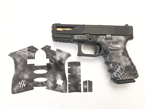 Glock  Kryptek Vinyl Style Gun Grip Wrap Gun Parts Kit