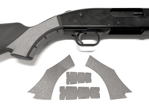 Mossberg 500 Gray Textured Rubber Grip Enhancement