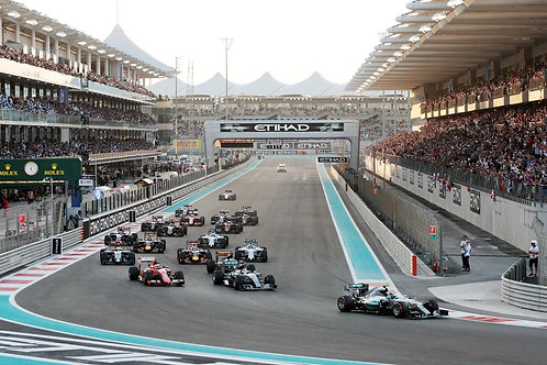 Abu Dhabi Grand Prix 2018 General Admission Ticket Only