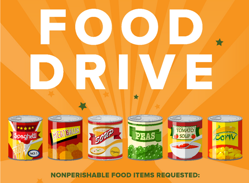 Host a Food Drive, Build Community