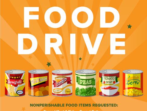 Host a Food Drive, Build Community