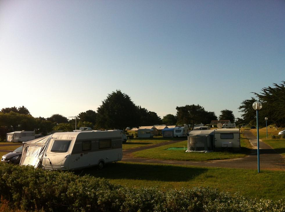 terrain de camping morbihan kerver