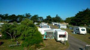 terrain camping car caravane tente morbihan le kerver