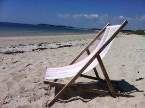 plage atlantique le kerver morbihan sable camping