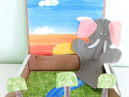 Where does the elephant live?