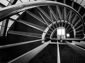 Dunedin Library Staircase.PNG