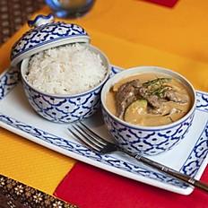 Boeuf au curry Pa-nang