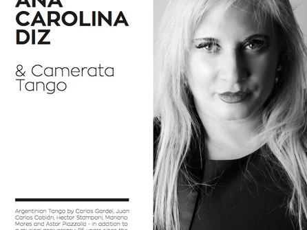 "CAMERATA TANGO NEW CD ""ANA CAROLINA DIZ & CAMERATA TANGO"""