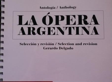 Presentation & Concert on 11. April 2019 at 7:00 Anthology of the Argentine Opera in Budapest