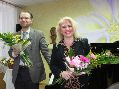 06. June 2019 amazing concert in Topoľčany with the gorgeous pianist Ladislav Fanzowitz