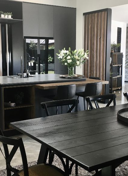 Ruapani street Dining Interior design.jp