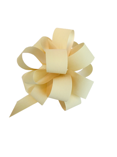 Dragbandsrosett paper synthetic