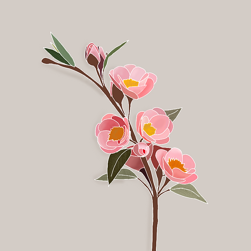dainty floral -digital download