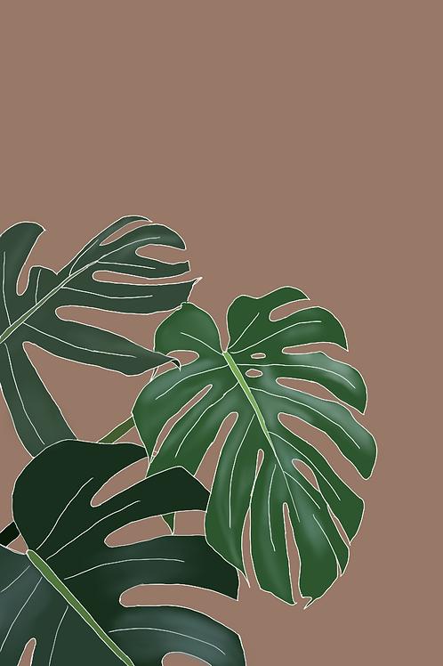 leafy green -digital download