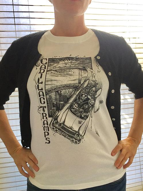 "Cadillac Tramps ""Drivin"" T Shirt"