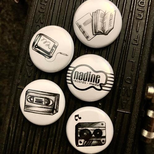 """NRM """"Art Lovers"""" Buttons"""