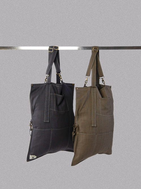 Heavy Duty Apron Tote Bag