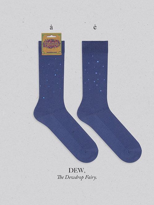 Spring Fairy Sock