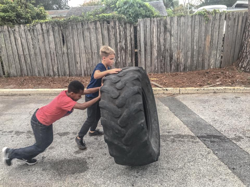 kids workout jax