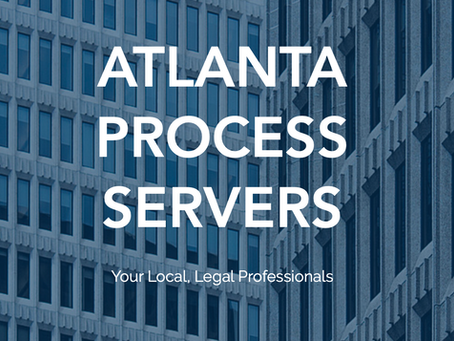 Atlanta Process Server May 2021 Newsletter