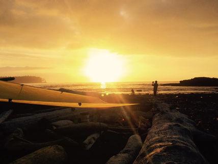 North Coast Trail Sunset