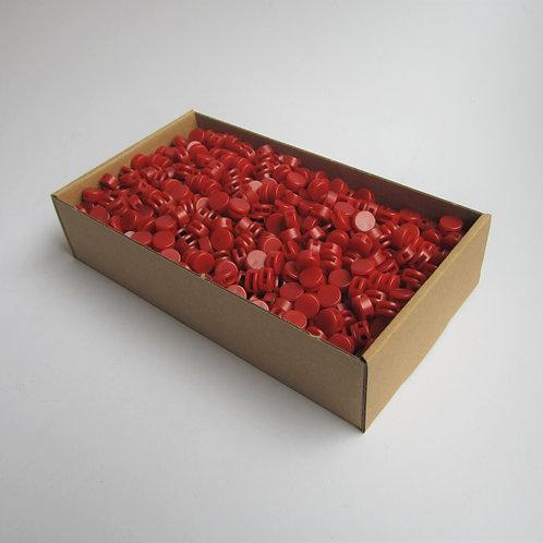 Kunststoff Zählerplomben rot