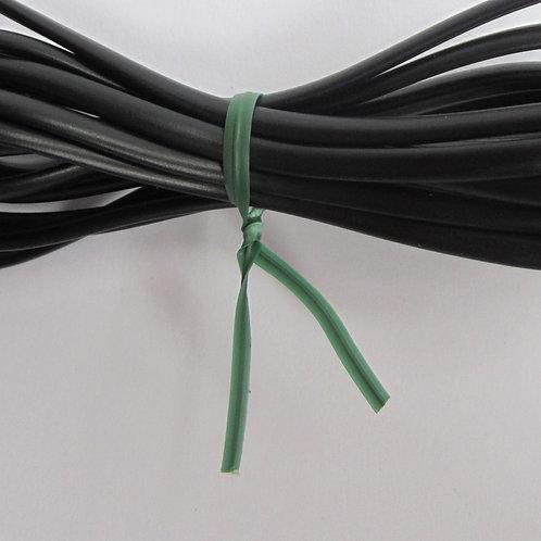 Kunststoff Bindestreifen grün