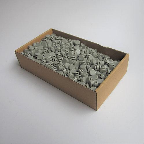 Kunststoff Zählerplomben grau