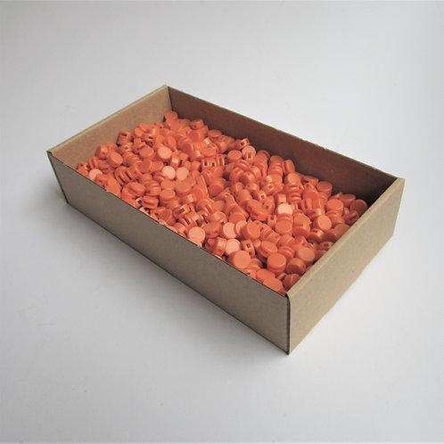 Kunststoff Zählerplomben orange