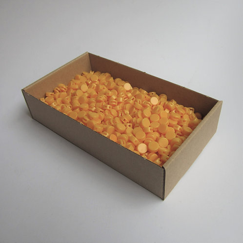 Kunststoff Zählerplomben gelb