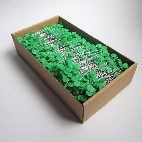 Drahtverschlüsse grün