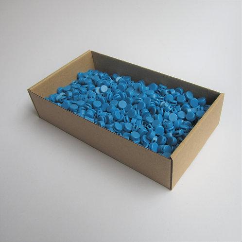 Kunststoff Zählerplomben blau