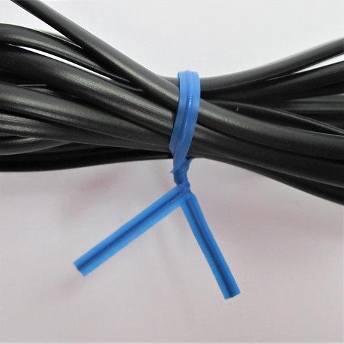 Kunststoff Bindestreifen blau