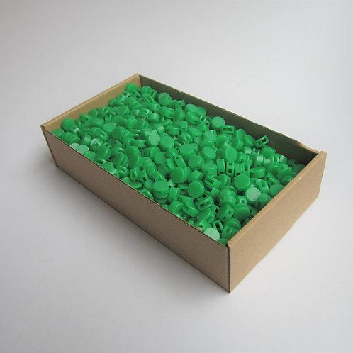 Kunststoff Zählerplomben grün
