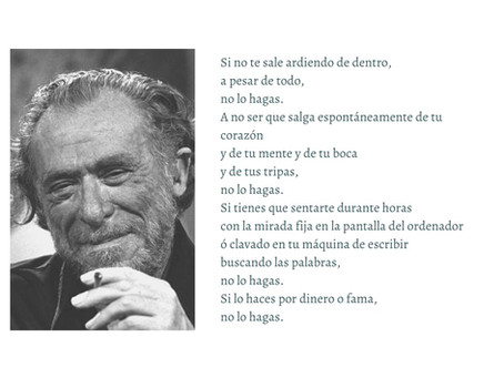 ¿Así que quieres ser escritor? Bukowski