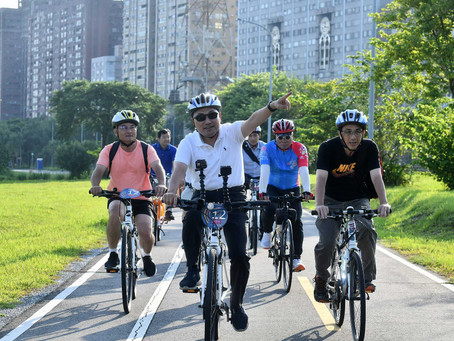 Hou Yu-Ih Experienced Bicycle Commuting to Encourage the Use of Green Modes of Transport in Citizens