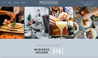 provisions hospitality group website des