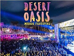 desert oasis music festival social media