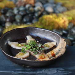 new style sashimi from taisho