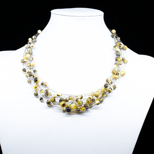 Amber Necklace #RAI005