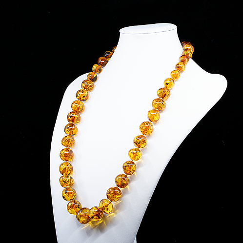 Amber Necklace #BAR002