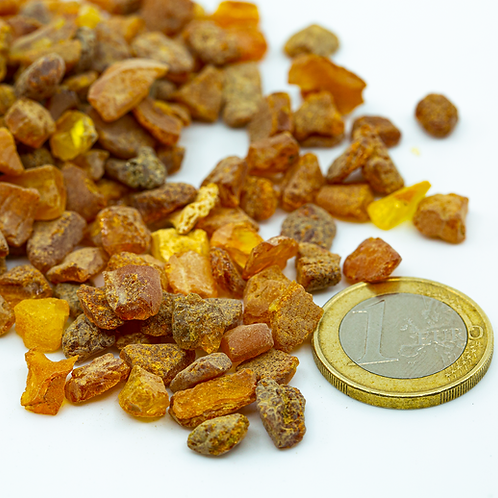 Raw Amber, Washed (+5 -8 mm)