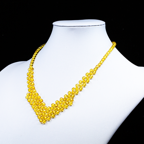 Amber Necklace #MUN036