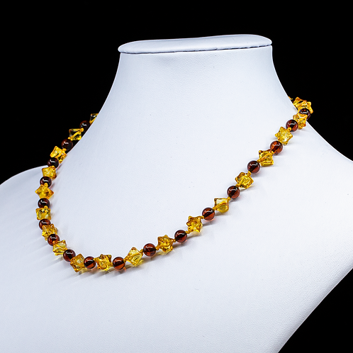 Amber Necklace #HEDGN008