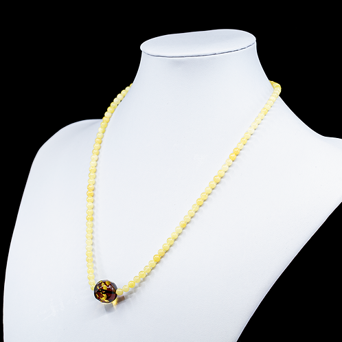 Amber Necklace #BAN025