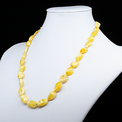 Amber Necklace #LEA001