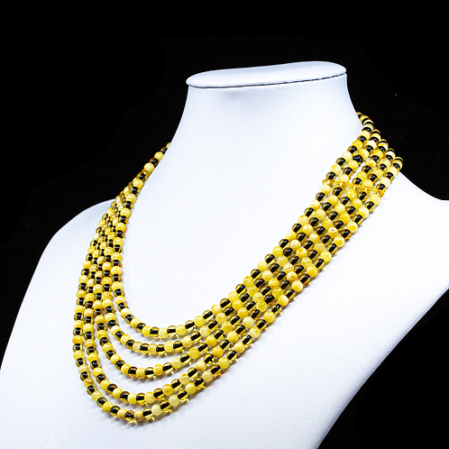 Amber Necklace #MUN029